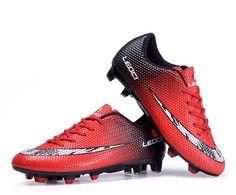 Aliexpress.com: Comprar 2016 Kids Authentic hombres botines de fútbol Fg botas de fútbol Ag botas rojo blanco negro con la caja Original de botas de felpa fiable proveedores en 100% Authentic DocMartens
