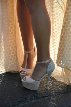 Short or long dress...make sure those stems are golden for your special event.