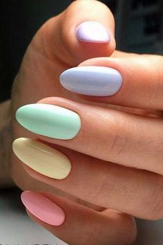 If you like pastel nails and nail designs, if you choose to have beautiful hands, this is your place. Here you can see the best designs and pastel nails to get ideas. In this article, you will see spectacular nail… Continue Reading → Acrylic Nails Coffin Short, Summer Acrylic Nails, Best Acrylic Nails, Spring Nails, Coffin Nails, Summer Nails, Winter Nails, Solid Color Nails, Nail Colors