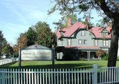 Mentor, Ohio -- James A Garfield National Historic Site. Open for tours year round.  http://1.usa.gov/Kb7SbU