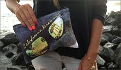 Lil Coconut Hawaii's new California Dreamin' clutches | Lei Chic
