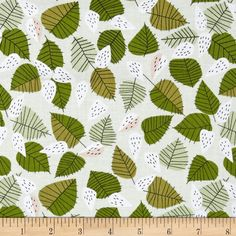 Designed by Lizzy House for Andover Fabrics, this cotton print fabric is perfect for quilting, apparel and home decor accents. Colors include shades of green, white, blush and black.