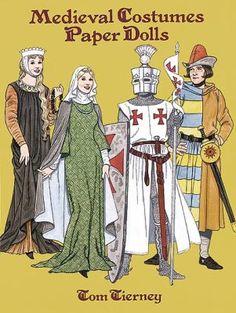 Medieval Costumes (1200-1350)   Gabi's Paper Dolls