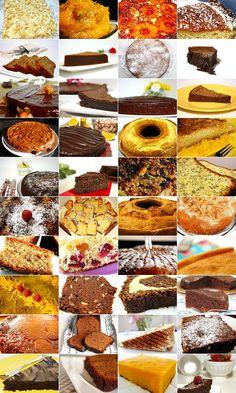 40 ideias de bolos