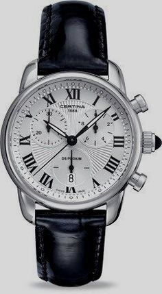 Certina Watch DS Podium Lady Chrono Quartz Watch available to buy online from with free UK delivery. Ring Der O, Swiss Luxury Watches, Chronograph, Omega Watch, Watches For Men, Men's Watches, Quartz, Elegant, Lady