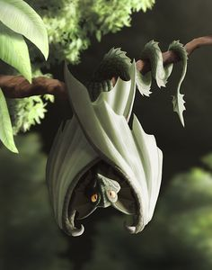 Green Dragonbat by dashase.deviantart.com
