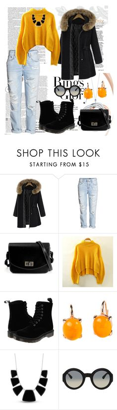 """Untitled #61"" by erna-pozderovic ❤ liked on Polyvore featuring beauty, Tiffany & Co., Dr. Martens, Rina Limor, Karen Kane and Gucci"