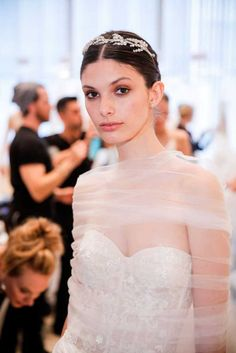 Beautiful Hairstyles from Bridal Fashion Week | Fashion, Trends, Beauty Tips & Celebrity Style Magazine | ELLE UK