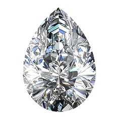 0.53 Ct Pear Shape Loose Diamond