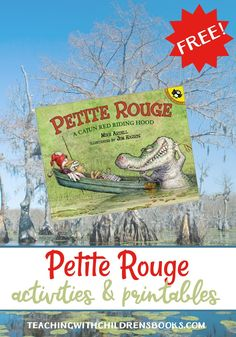 Petite Rouge Riding Hood gives a clever Cajun twist to the classic story of Little Red Riding Hood. Have fun digging into the book with this book companion!