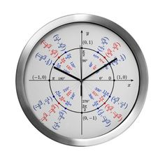 Large Unit Circle Clock by unrestrained