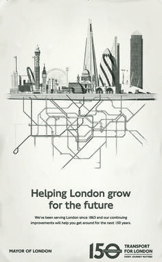 Thirbaud Herem Transport For London Poster
