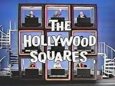 The Hollywood Squares TV game show