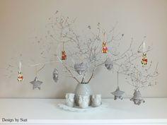 Design by Suzi Winter Decorations, Branches, Snow, Design, Eggplant, Eyes, Let It Snow