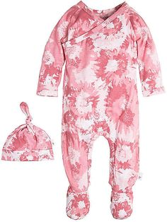 Burt's Bees Baby Wrap Front Footed Organic Cotton Coverall and Hat Set #ad #babyoutfit #nursery nursery, baby, newborn, baby shower, baby registry, baby gift ideas #baby outfit