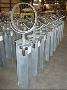 """60"""" Adjustable Pipe Stands for an LNG Plant"""