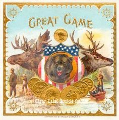 Great Game Cigar Label