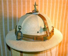 Steampunk Explorers Helmet/Safari Hat - just like the guy at Intense Intents in Tents!