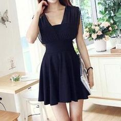 Buy 'Jolly Club – Chiffon-Panel Dress ' with Free Shipping at YesStyle.ca. Browse and shop for thousands of Asian fashion items from China and more!