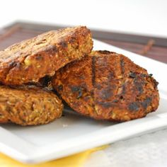 Mexican bean burgers by Including cake