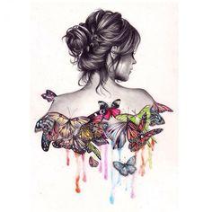 DIY Diamond Painting Kit Butterfly Dress - Craftar