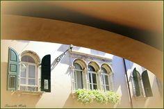 Balcone in Via Paolo Sarpi di Simonetta Menta