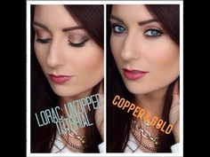 ▶ EASY & QUICK: Gold & Copper Eye: LORAC Unzipped Palette ; could totally sub in Naked3