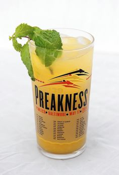 New life for the black-eyed Susan drink at Preakness. These were ok. At $9 bucks a crack, I think they could have added a bit more booze to them...just saying.