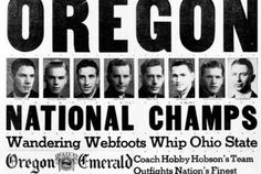 University of Oregon vs. Ohio State in the First-Ever NCAA Men's Basketball Tournament Looked Like | Mental Floss