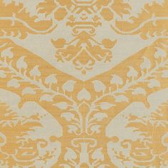 Tamerlane Damask | 62520 in Patina | Schumacher Fabric