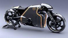 Lotus has built an amazing motorbike - BBC Top Gear