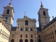 Terminamos el viernes con el Monasterio de El Escorial.