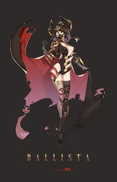 Female: Demon Warrior/ Assassin