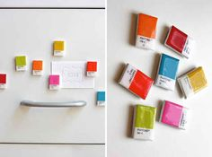 Magnets | 18 Colorful Pantone Projects