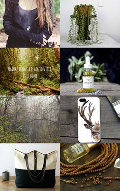 Spring Forest by Stacy on Etsy--Pinned with TreasuryPin.com #chaoscurators #etsyfinds #forest