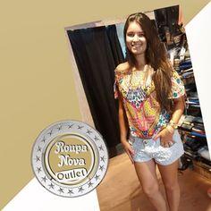 Chegaram novidades na #RoupaNova! Vestidos, Macaquinhos, Blusas e shorts femininos! Bermudas, camisetas e camisas!