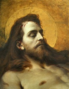 """Dead Christ"" by Pedro Américo, 1901"