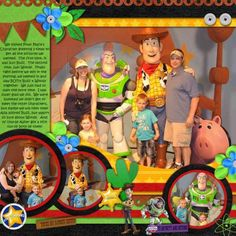 Toy Story - MouseScrappers - Disney Scrapbooking Gallery