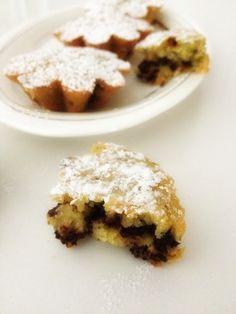 Armonia di Mandorle: Dolcetti morbidi con zucchine e cioccolato -  Soft cakes with zucchini and chocolate