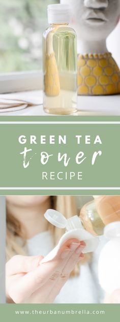 DIY Green Tea Facial Toner | Quick and Easy 10 Minute Skincare Recipe Green Tea Facial, Green Tea Toner, Diy Beauty Tutorials, Diy Beauty Projects, Facial Toner, Facial Skin Care, Skin Toner, Diy Makeup Foundation, Homemade Facials
