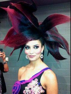fantasy hair hat.