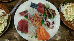 Kikufuji's mixed sashimi.