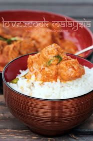 ♥ LOVE2COOK MALAYSIA♥: Soy Made Chicken Rendang...♥