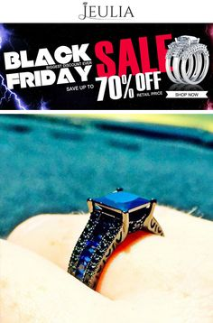 Jeulia is offering 70% discount on Black Friday Sale.  For more #Jeulia #Coupon #Codesvisit http://www.couponcutcode.com/categories/black-friday/