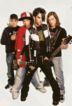 Tokio Hotel--the younger years. So cute. XD