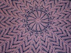 Toalha de mesa em Crochet
