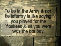 28 best us army infantry images on pinterest us army infantry wow this is just ignorant very hurt by this infantry is not the only important part of the army fandeluxe Gallery