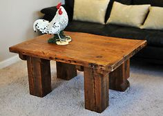 Rustic Refinery #395 Reclaimed Wood Coffee Table