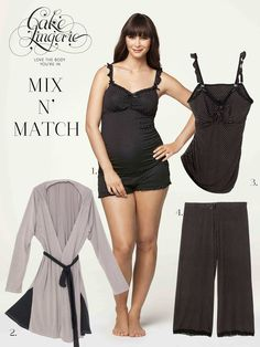 dc091c2fce795 Choc Vanilla short and cami by Cake Lingerie