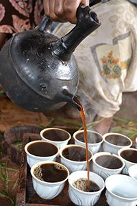 ethiopian coffee ceremony. i had this tonight!! AMAZING coffee!!! yes, i'm still awake!!